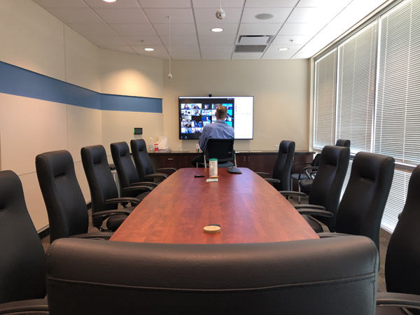 Dr. Craig Phelps in conference room