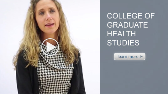 intro video of ATSU's Doctor of Health Sciences Program Chair, Dr. Kathleen DiCaprio.