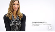 intro video of ATSU's Health Education Program Chair, Dr. Erin Breitenbach.