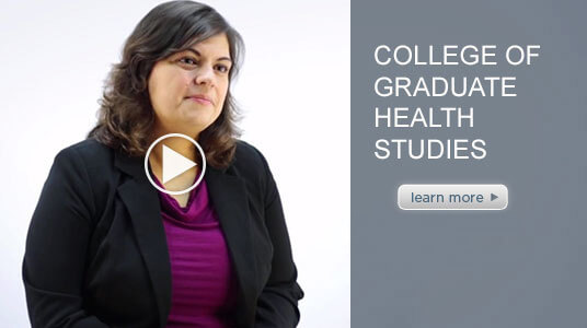 intro video of Mary-Katherine Smith, Department Chair of ATSU's CGHS.