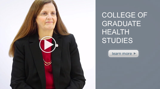 intro video of ATSU's College of Graduate Health Studies Chair, Dr. Letha Williams.