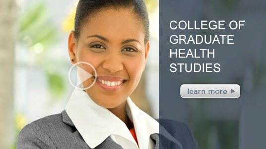 Video introducing ATSU's College of Graduate Health Studies.